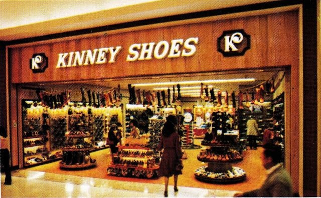 Oldies but goodies Mall Shopping 80's style Kinney Shoes