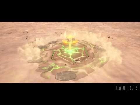 UE4 FX Earth Shatter Totem