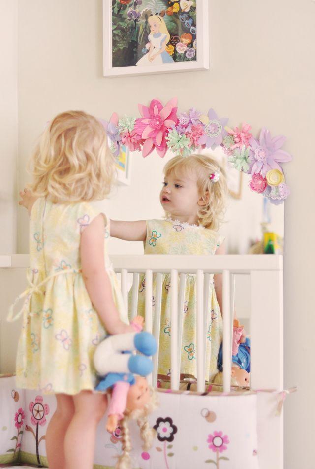 17 best ideas about flower mirror on pinterest diy