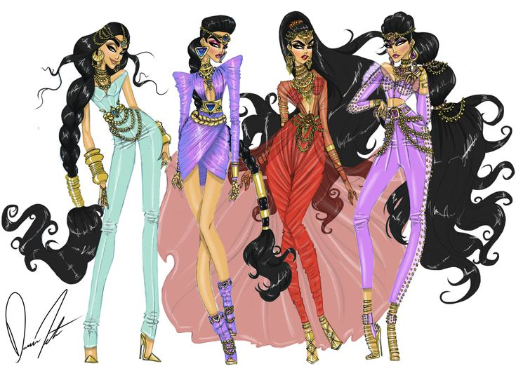 Daren J — Disney fashion frenzy, Princess Jasmine ...