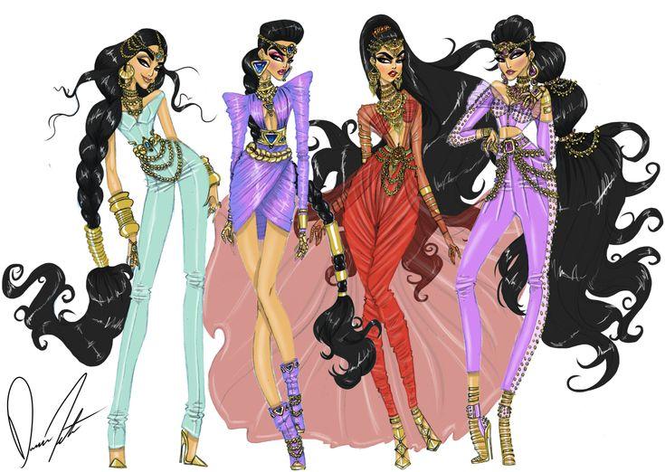 Daren J — Disney fashion frenzy, Princess Jasmine ...
