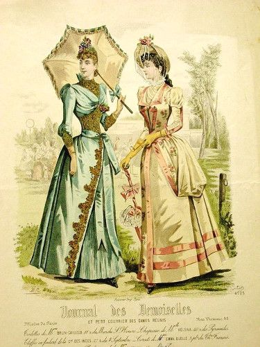 1889 Journal des Demoiselles
