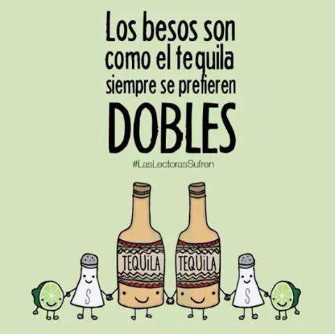Los besos como el tequila - Happy drawings :)