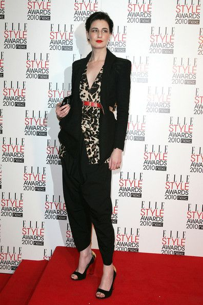 Erin O'Connor Photos Photos - Erin O'Connor at the 2010 Elle Style Awards at the Grand Connaught Rooms in London. - The 2010 Elle Style Awards