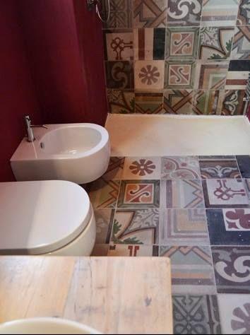 Oltre 1000 idee su piastrelle di cemento su pinterest piastrella pavimenti e piastrelle da parete - Piastrelle esagonali colorate ...