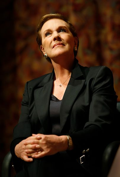 Julie Andrews talks about her new biography at a Writers Bloc event at the Writers Guild Theater in Beverly Hills Friday April 18 2008