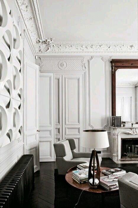゚✧lillianressel❀* Modern Classic Interior, French Interior Design,