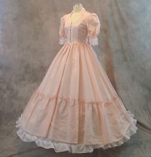 Civil War Ball Gown, Southern Belle Dress Costume Vintage Prom (12N1