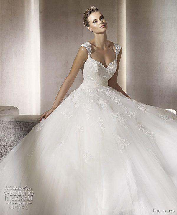 Cute Pronovias Wedding Dresses u Glamour Dreams u Ball Gowns Bridal Collections