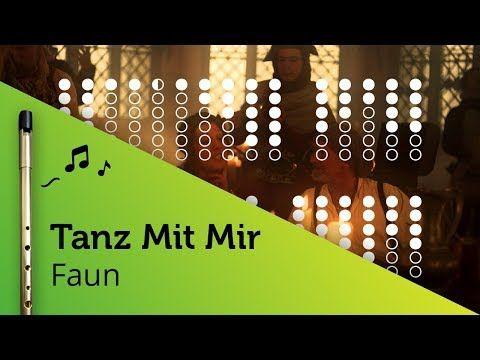 Tanz Mit Mir (Faun) on Tin Whistle D + tabs tutorial - YouTube