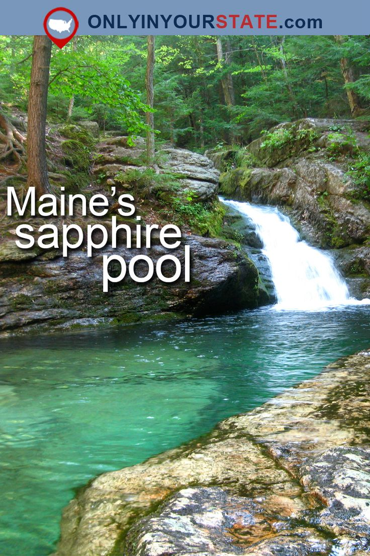 Travel | Maine | Pools | Natural Pools | Blue Water | Beautiful Places | Natural Wonders | Nature | Hidden Gems | Summer Destinations | New England