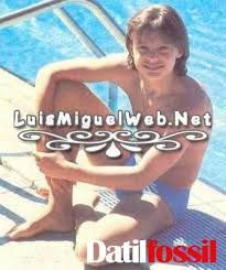 Luis Miguel, muuy joven y guapo