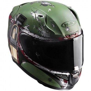 HJC RPHA 11 Pro Star Wars Boba Fett Mens Street Cruising DOT Motorcycle Helmets