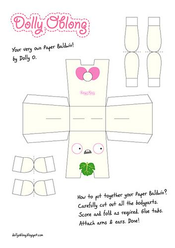 70 best PaperCraft \ Models images on Pinterest Crafts, Paper - pip template