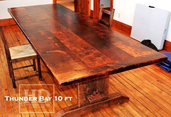 Trestle Tables Ontario | Rustic Trestle Table | HD Threshing