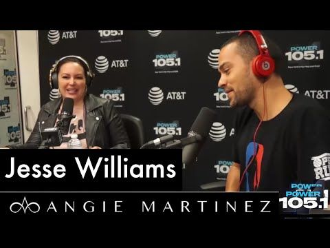Jesse Williams on the Angie Martinez Show. May 2016. This is the second time in my life I've heard of the reason for the formation of police and sheriff departments. Must watch. Stay woke, people. Stay woke.