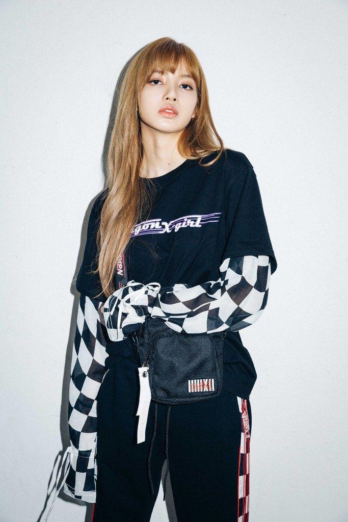 BLACKPINK Lisa Looks So Swag for X,girl Japan Nonagon