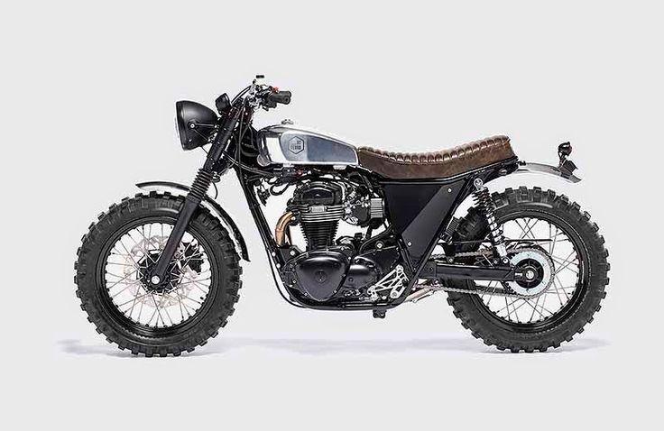 Generation Bobber: Kawasaki W 800 Scrambler Umbau von Di Ferro