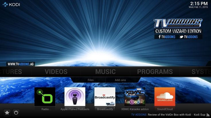 Kodi-Check out these add-ons to enhance your viewing experience