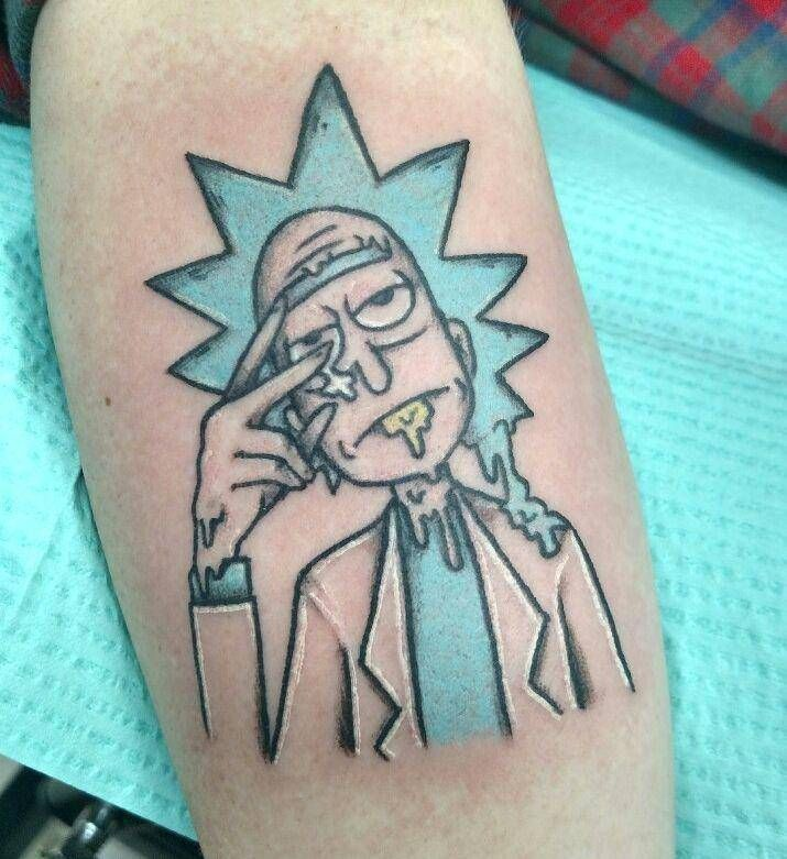 Rick And Morty Tattoo: 13 Best Rick And Morty Tattoos Images On Pinterest