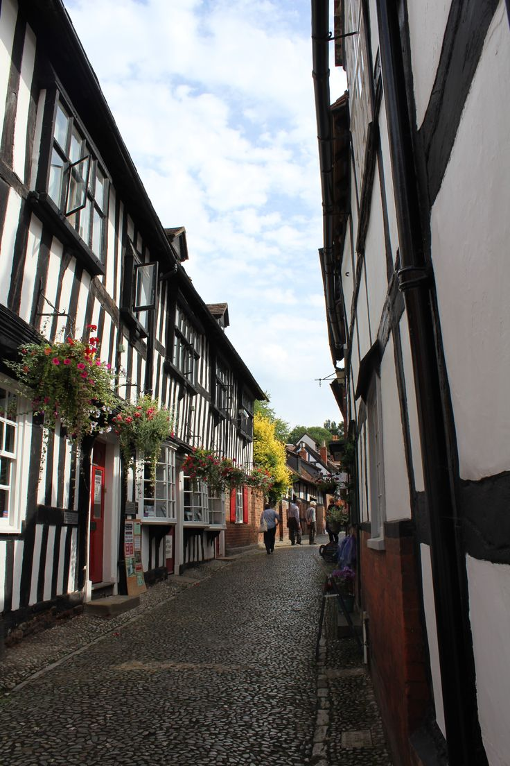 Being a tourist in Ledbury.