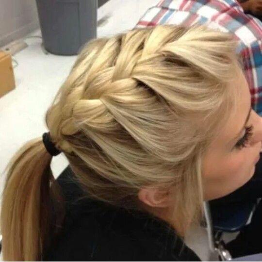Sensational 1000 Ideas About Cute Easy Ponytails On Pinterest Quick Short Hairstyles Gunalazisus