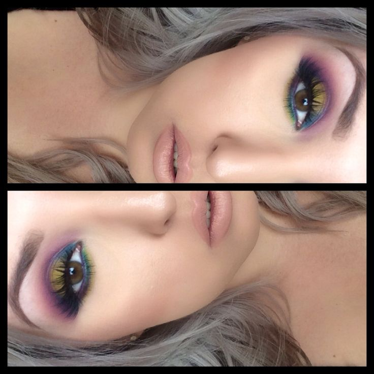 Urban decay electric palette with Koko lashes