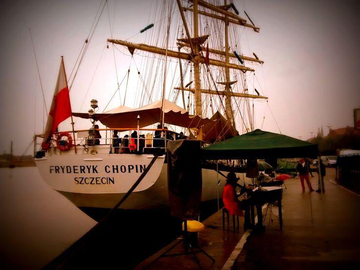 #s/y Polonez  #s/y Fryderyk Chopin #powrót do Szczecina