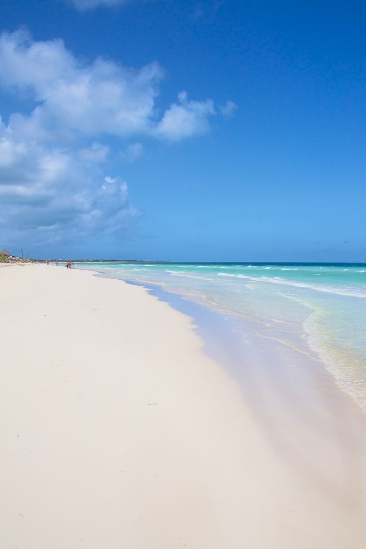 Cayo Santa Maria beach in Cuba see you soon <3
