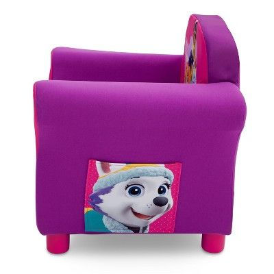 Nick Jr. Paw Patrol - Skye & Everest - Upholstered Chair,