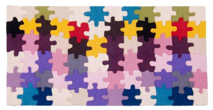 Alfombra diseño puzzle