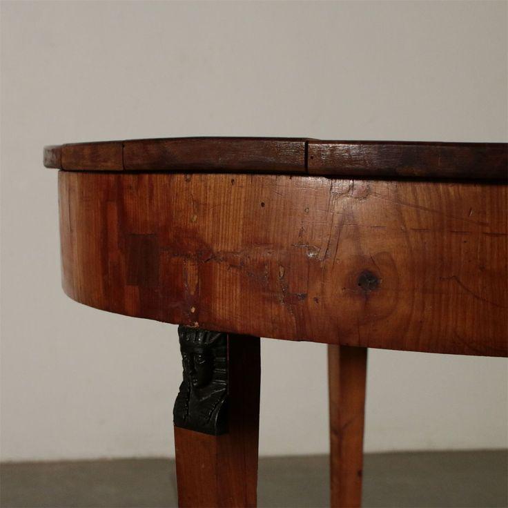 Runder Tisch Retour D Egypte Nussbaum Frankreich 19 Jahrhundert