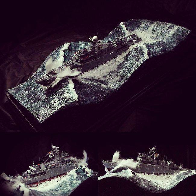 Wow!!! ROKS PCC-772 Cheonan. Modeler 서동길 #scalemodel #plastimodelismo #miniatura #diorama #hobby #ship #navio #scalemodelkit #plastickits #usinadoskits #udk #miniatur #miniature #maqueta #maquette #modelismo #modelism #modelisme #plasticmodel #plastimodelo