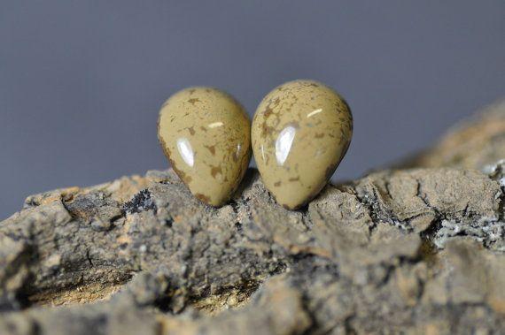 Stud earrings  earrings tears drops handmade ready to by zolanna