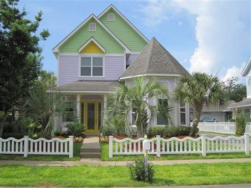 4586 Wood Wind Dr. #Destin, #FL 32541  Victorian Style with new construction quality. 3 or 4 bedroom (office) 2 1/2 bath, one car garage, house of superior construction with 2x6 walls and 12 foot ceilings and 10 foot doors. Brick patios and walkways. Expert landscaping, palm trees and sprinkler system. Best location in the community right by the community pool, field and two koi ponds. #Florida #RealEstate