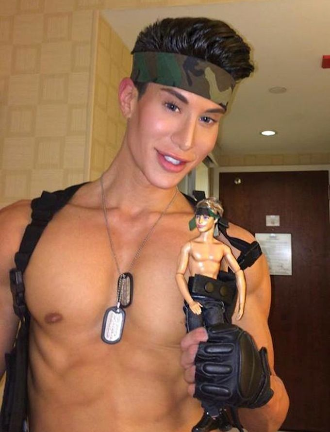 Think, that man ken doll plastic surgery remarkable