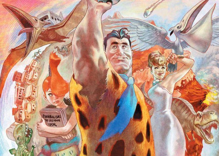 The Flintstones - best comic book series of 2017?  It's a contender!