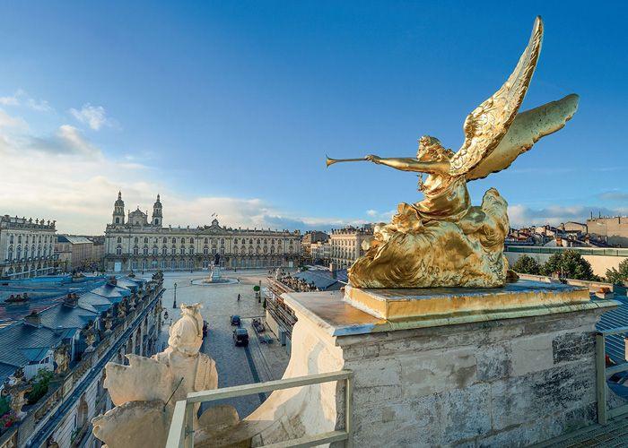 Les 5 plus belles places de France Nancy
