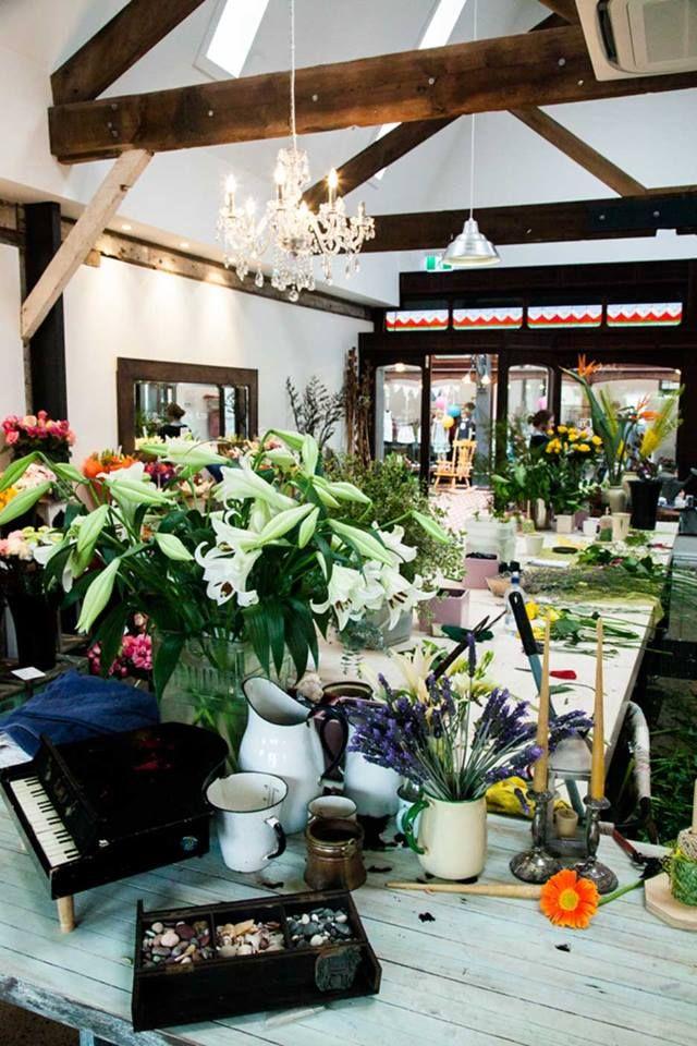 Our Workshop - Aromaunga Flowers Ltd