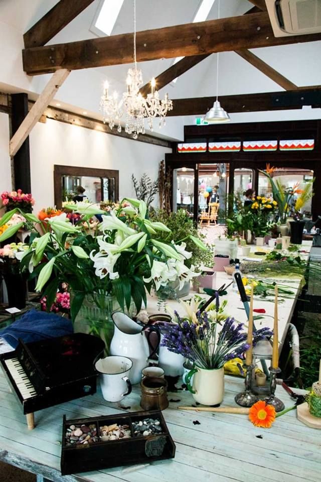 Our Workshop - Aromaunga Flowers Ltd