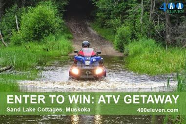 ATV Getaways in the Spring and Fall are amazing.  Come visit us today http://www.sandlake.on.ca