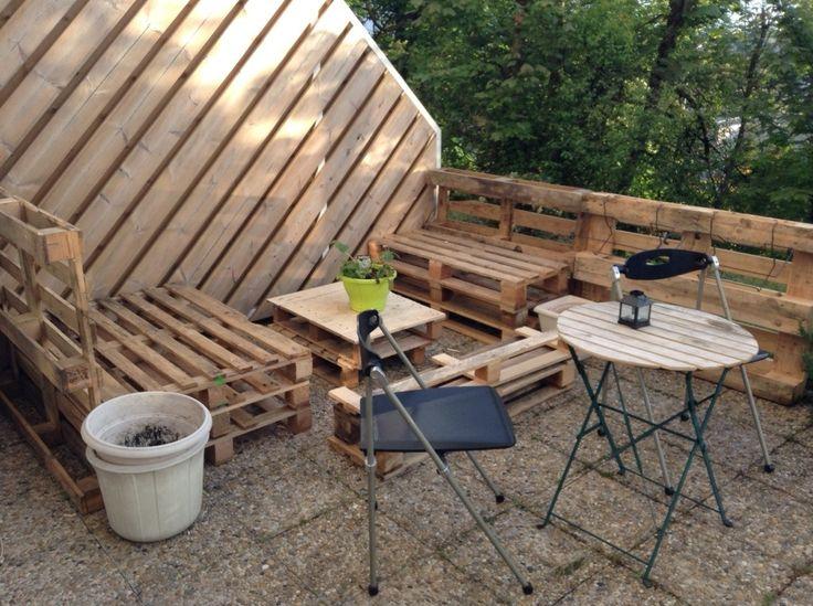 70 les meilleures images concernant cr ations avec des for Tuto terrasse bois
