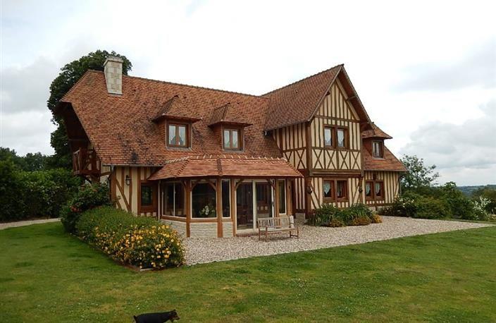 Les 22 meilleures images du tableau v randas sur pinterest recherche agrandir sa maison et - Extension maison normande ...
