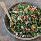 Try the Shredded Kale Salad with Pancetta and Hard-Cooked Egg Recipe on Williams-Sonoma.com: Eggs, Kale Salads, Food, Recipes, Bacon, Hard Cooked Egg, Shredded Kale, Bad