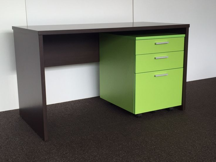 Student Desk and Drawers by Lundia