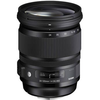 $900 - LENS (Alternative) Sigma 24-105mm F/4 DG OS HSM Lens for Canon mount. PROS: workhorse lens covering medium-wide, medium and telephoto range. Great for general use. CON: no wide shots means prime or wide-zoom lenses will be used in tandem. *w/Speedbooster: 42-183.8mm f2.3