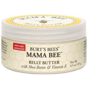 Burt's Bees Mama Bee Belly Butter - I used this when I was pregnant with Lincoln and didn't get one single stretch mark!