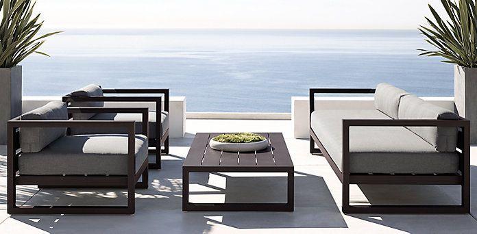 Top 25 best restoration hardware outdoor furniture ideas for Sofa exterior marbella