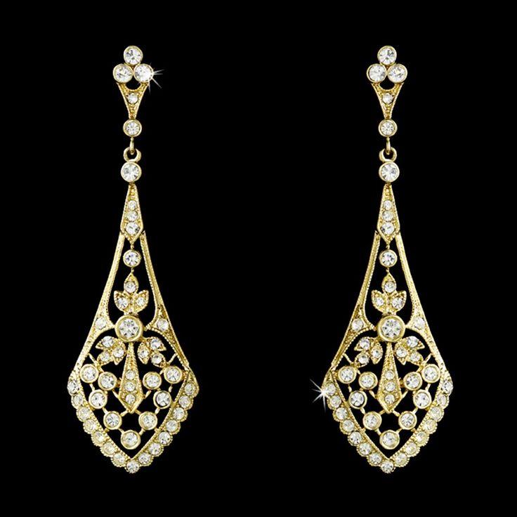 The 25 best Vintage bridal earrings ideas on Pinterest Vintage