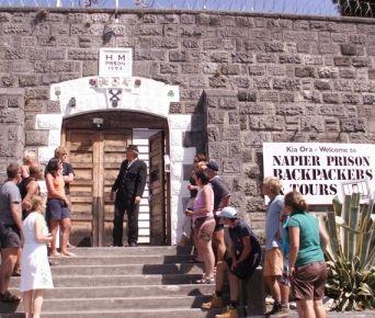 Napier Prison tours